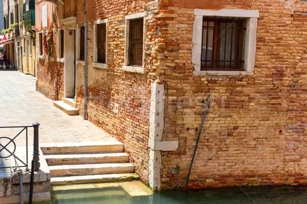 House in Venice near canal Stock photo © vapi