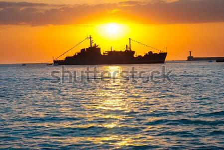 Military ship Stock photo © vapi