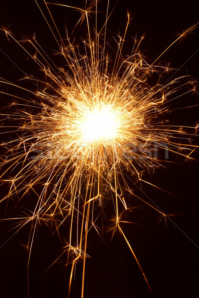 Vicces ünnep csillog fekete buli narancs Stock fotó © vapi