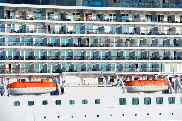 Board of luxury cruise ship Stock photo © vapi