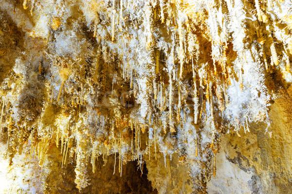 çok beyaz içinde mağara güzel eski Stok fotoğraf © vapi