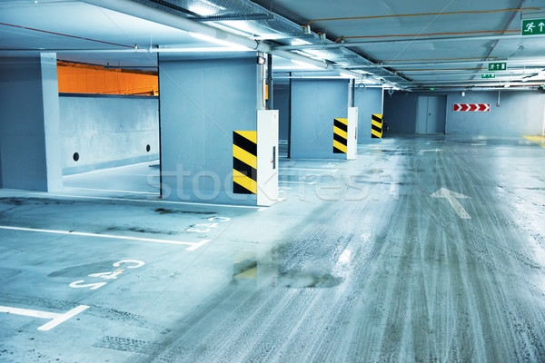 Lege ondergrondse parkeren business auto winkelen Stockfoto © vapi