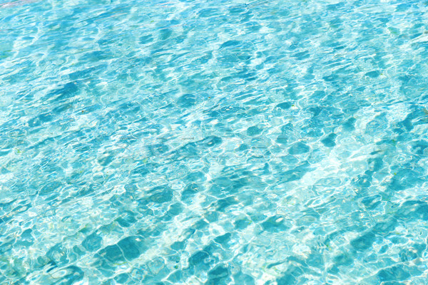 Blue water texture with waves Stock photo © vapi