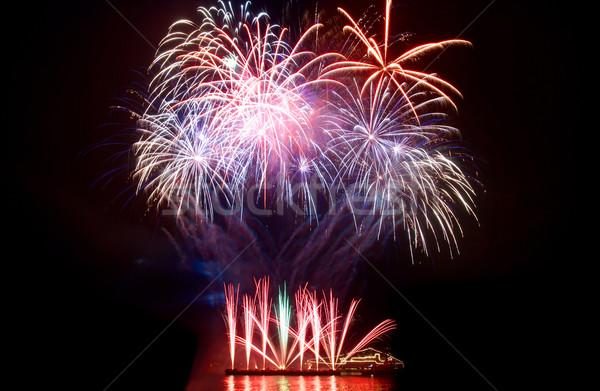 Salute, fireworks Stock photo © vapi