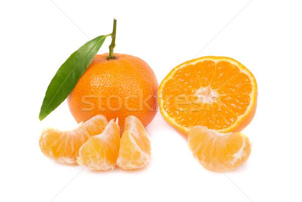 Orange mandarins Stock photo © vapi