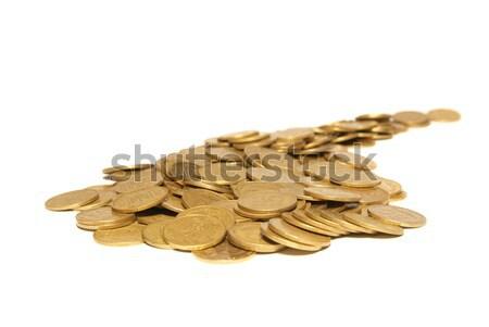 Road of golden coins Stock photo © vapi