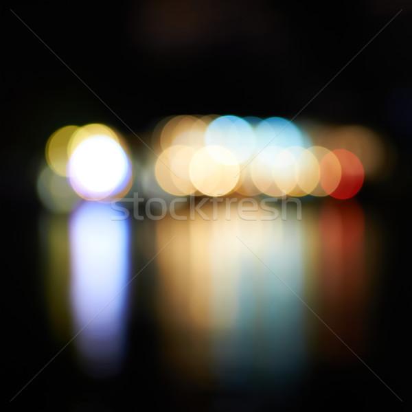 Holiday's lights Stock photo © vapi