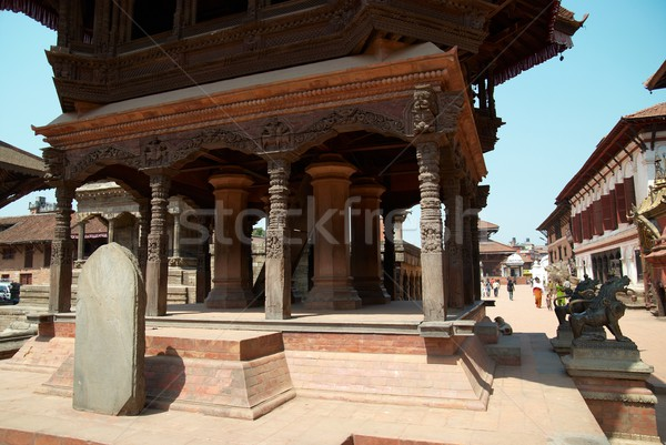 храма город Непал старые дома здании Сток-фото © vapi