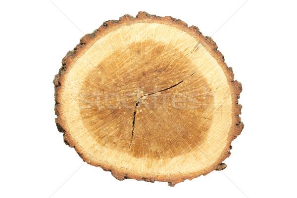 Foto stock: Aislado · blanco · textura · madera · construcción