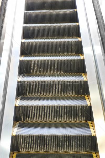 Lege roltrap trap stappen trappenhuis luchthaven Stockfoto © vapi