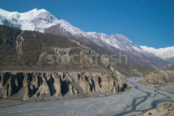 Marsyangdi river, Tibet. Stock photo © vapi