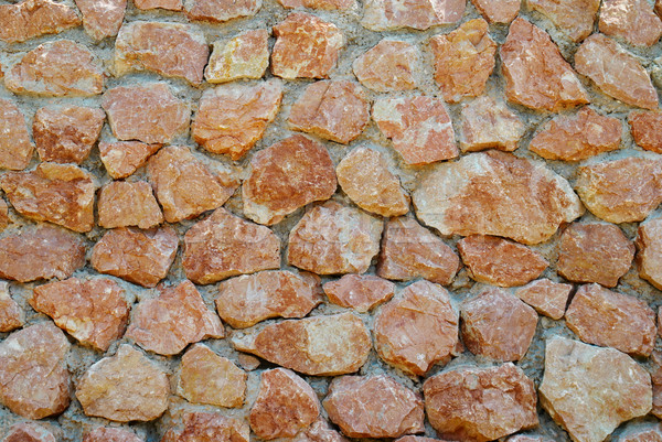 A wall of textured red stones. Stock photo © vapi