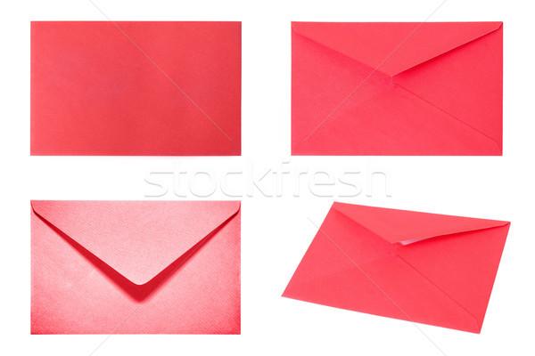 Сток-фото: набор · красный · изолированный · белый · высокий · разрешение