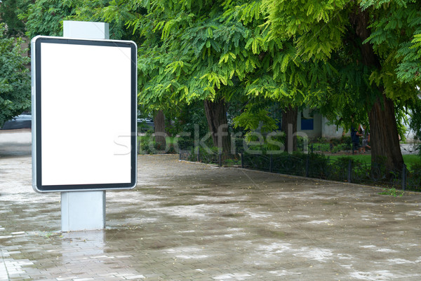 Blank billboard Stock photo © vapi