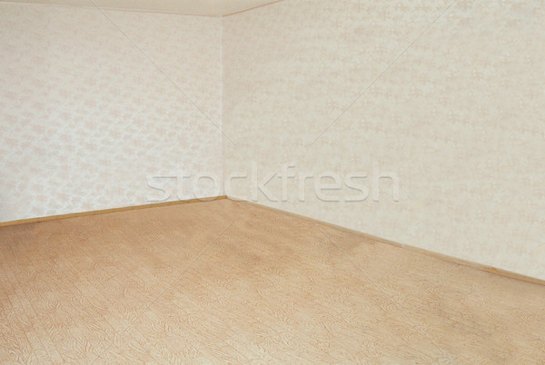 Lege kamer muren hoek midden muur ontwerp Stockfoto © vapi