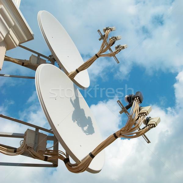 Satellite antenna Stock photo © vapi