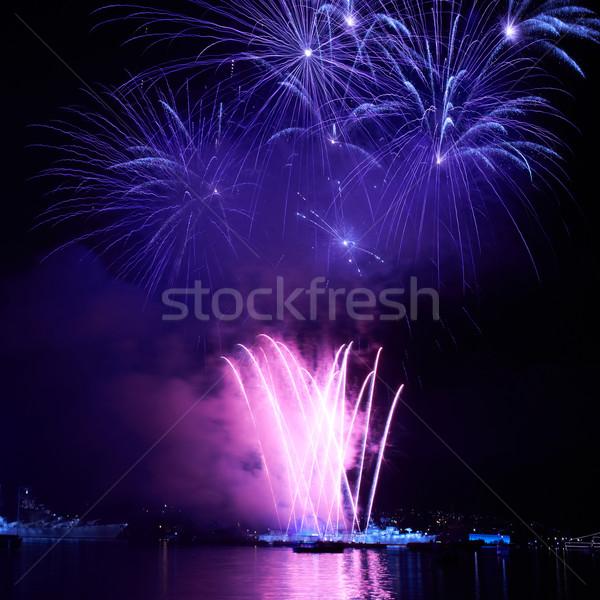 Colorful firework Stock photo © vapi
