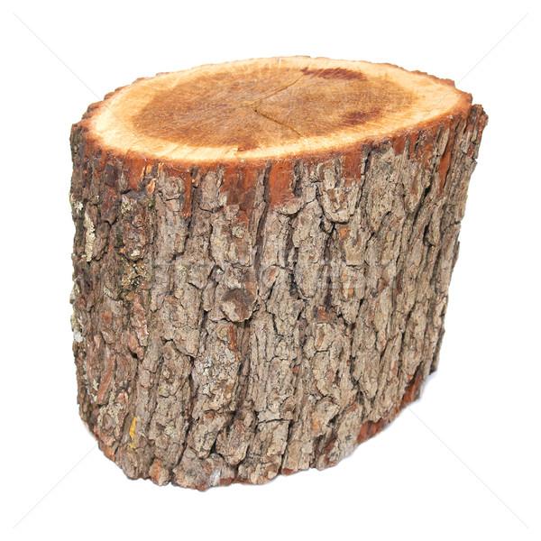 Fából készült izolált fehér textúra fa építkezés Stock fotó © vapi