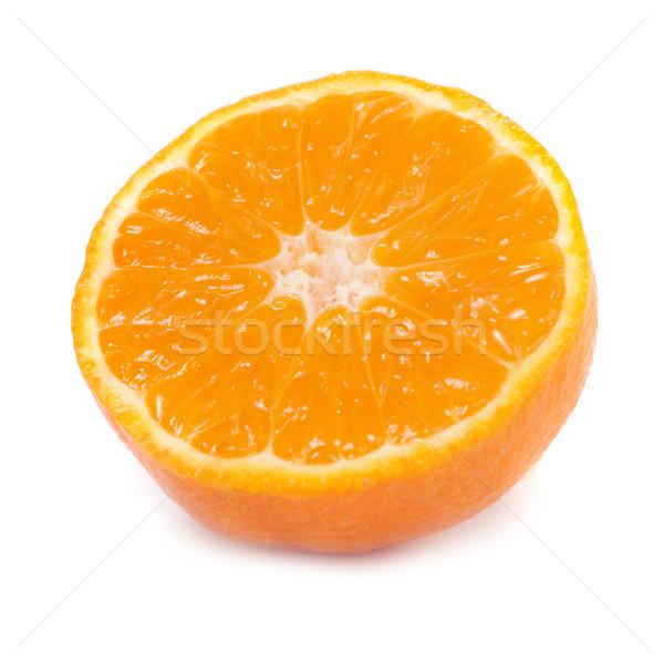 Half of orange mandarin Stock photo © vapi