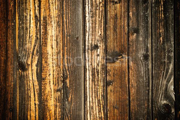 Old grunge wooden texture Stock photo © vapi