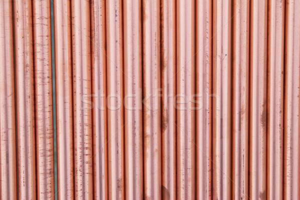Cobre tuberías pueden utilizado resumen agua Foto stock © vapi