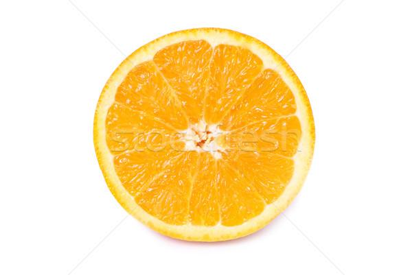 Half of juicy orange Stock photo © vapi