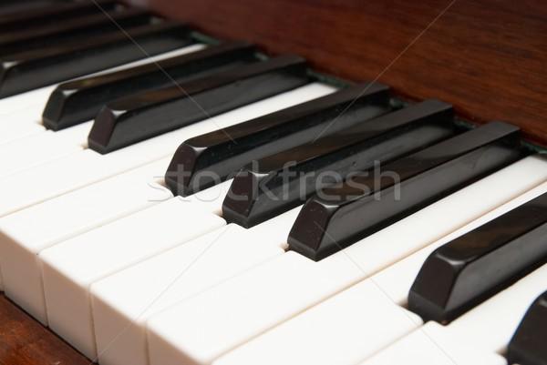 Stock photo: Piano keys