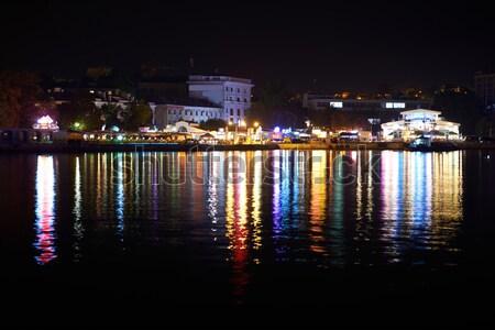 City illumination at night Stock photo © vapi