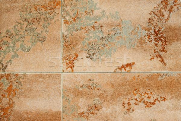 Absztrakt márvány minta konzerv használt papír Stock fotó © vapi