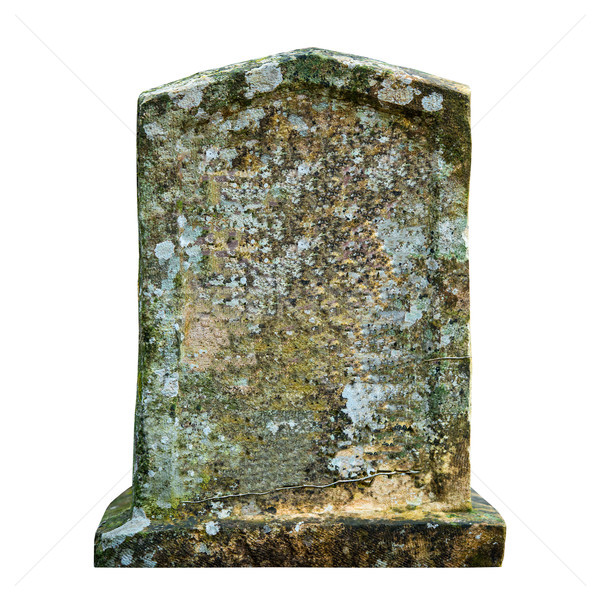 Old ancient tombstone Stock photo © vapi