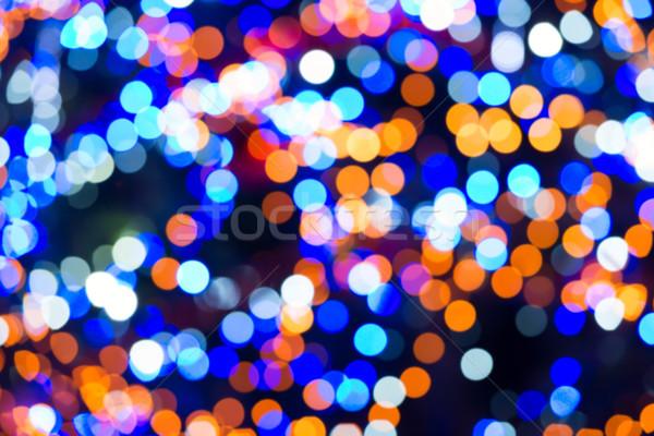 Holiday abstract lights Stock photo © vapi