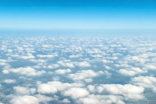 Cloudscape with blue sky Stock photo © vapi