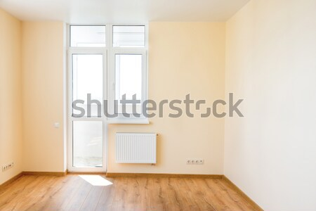 пустой комнате окна свет большой белый Сток-фото © vapi