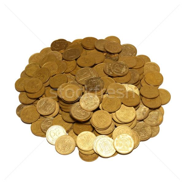 Monete isolato bianco soldi Foto d'archivio © vapi