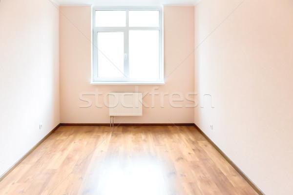 Lege kamer venster licht groot witte Stockfoto © vapi