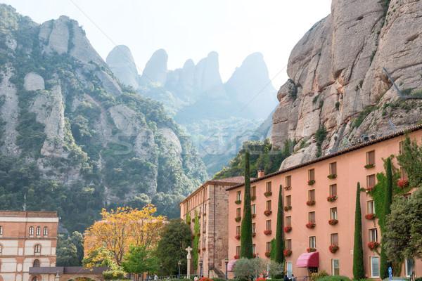 Montserrat Monastery in Barcelona, Spain Stock photo © vapi