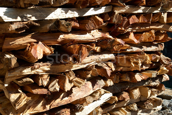 Tűzifa boglya konzerv textúra tűz absztrakt Stock fotó © vapi