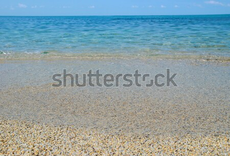 Tropical sand beach Stock photo © vapi