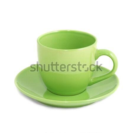 Green teacup Stock photo © vapi