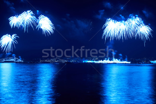 Сolorful fireworks  Stock photo © vapi