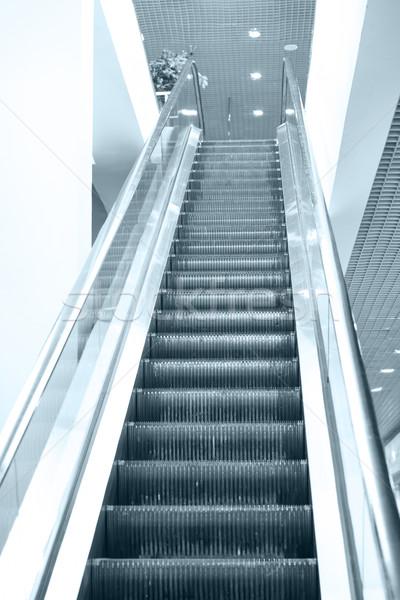 Vuota scala mobile scale passi scala aeroporto Foto d'archivio © vapi