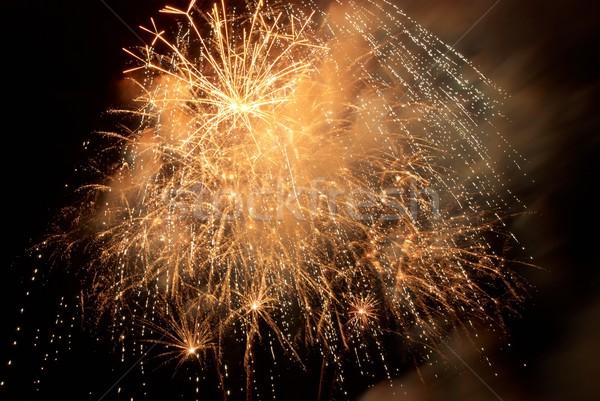 Fireworks, salute. Stock photo © vapi