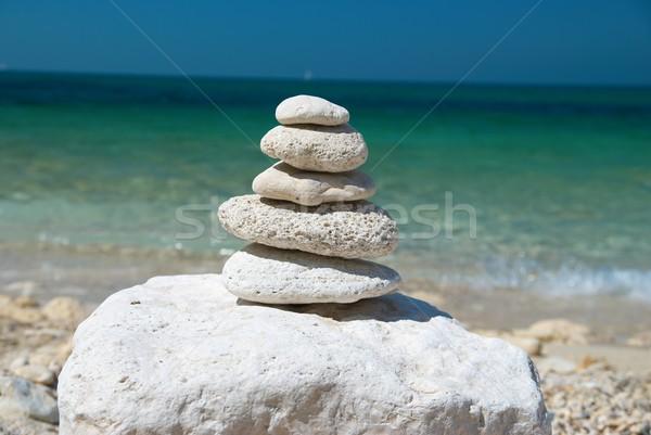 Tower from stones Stock photo © vapi