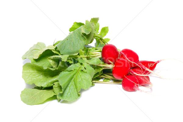 赤 大根 孤立した 白 食品 ストックフォト © vapi