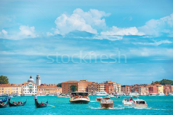 канал Венеция Италия базилика Сток-фото © vapi