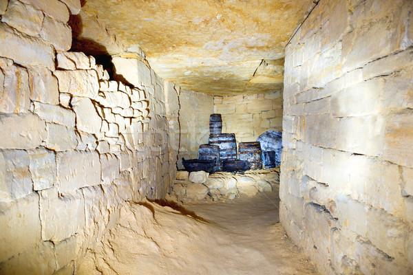 Tunnel in stone quarry mine Stock photo © vapi