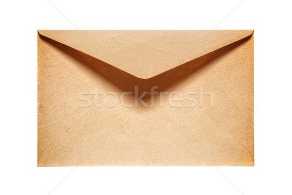 Half Open oude Geel papier envelop Stockfoto © vapi