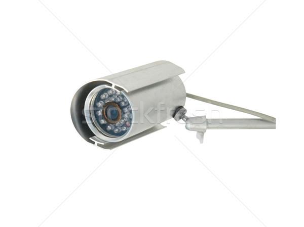 Aparatu bezpieczeństwa odizolowany biały działalności miasta technologii Zdjęcia stock © vapi