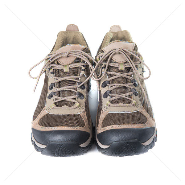 Pair of brown trainers Stock photo © vapi