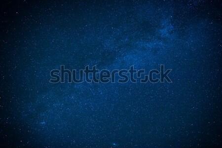 青 暗い 夜空 多くの 星 ミルキー ストックフォト © vapi